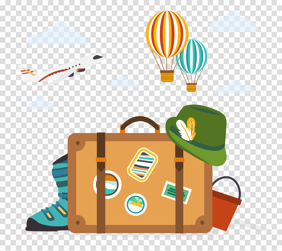 Hot Air Balloon Cartoon clipart.