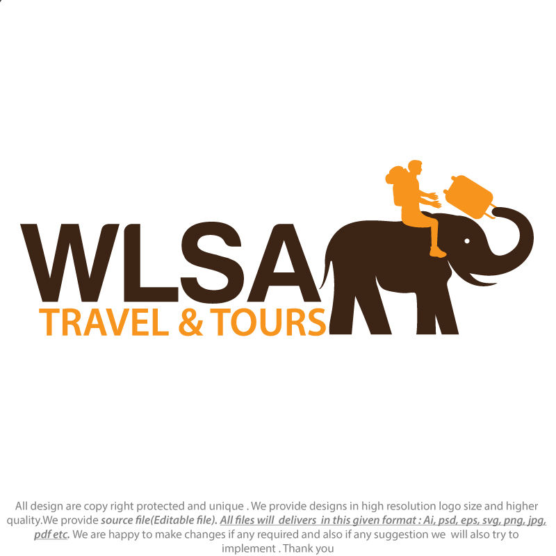 Entry #719 by sixgraphix for Design a Logo for Travel & tour.