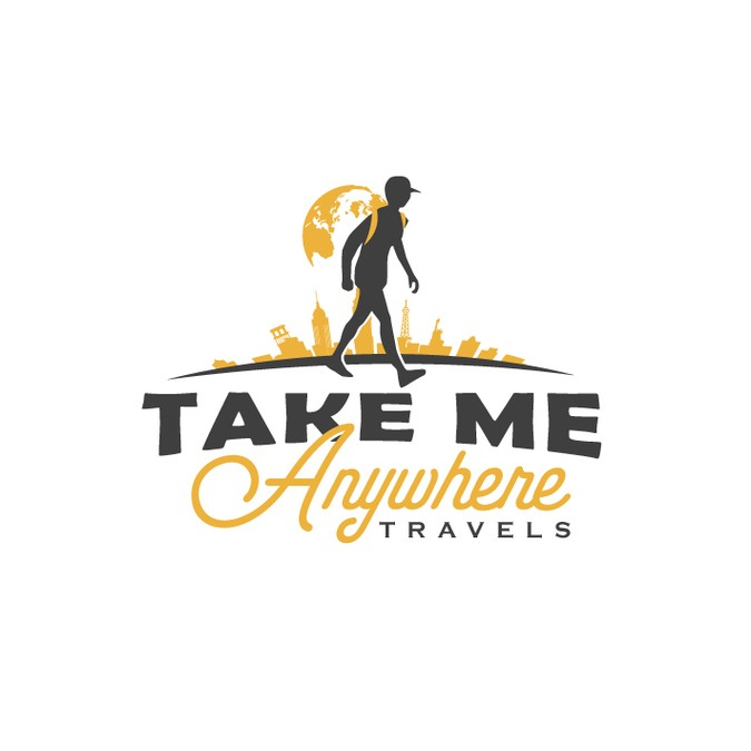 Create a fun and playful logo for a travel company!.