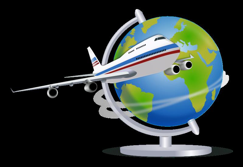 Free Clipart: Travel Globe.