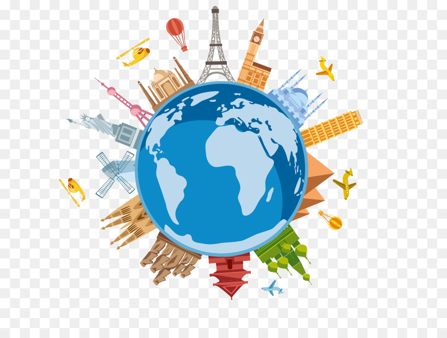 Travel Earth clipart.