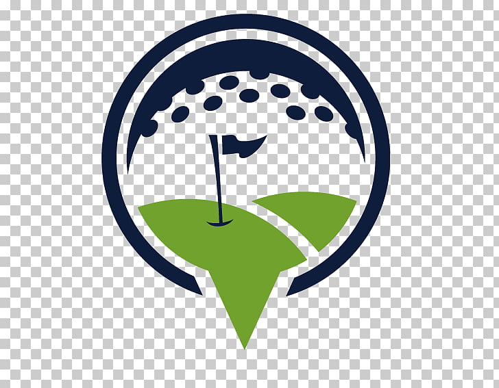 Golf course Logo Royal Putting Greens, Creative Travel logo.