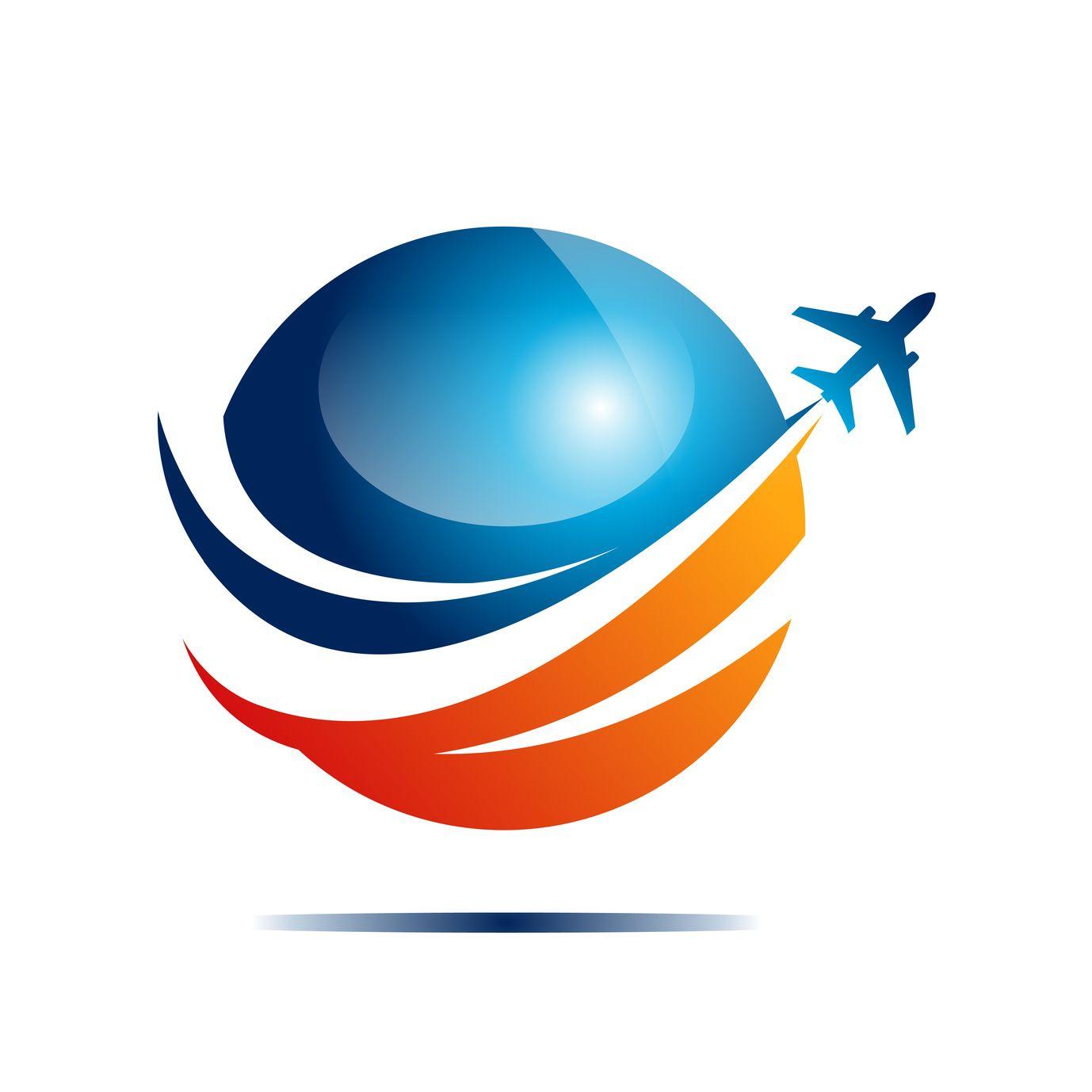 travel logo design.