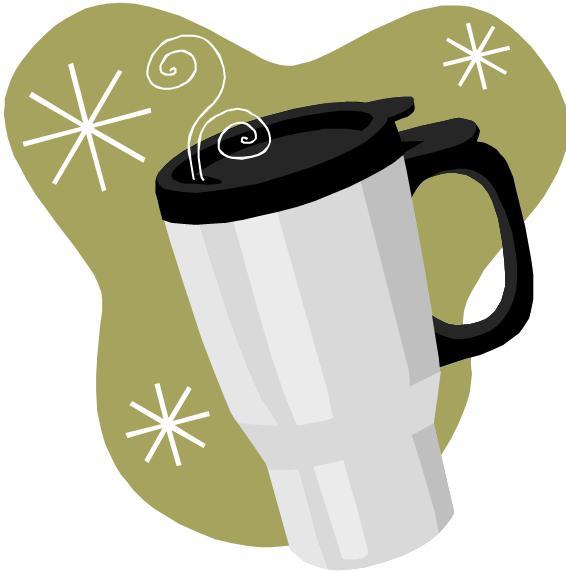 Coffee Travel Mug Clipart.