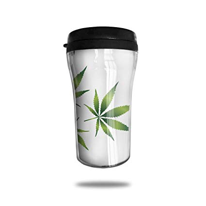 Amazon.com: RONG FA Clipart of A Cannabis Leaf Pattern.