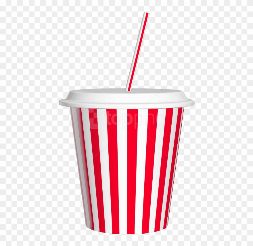 Free Png Download Drink Cup With Straw Clipart Png.