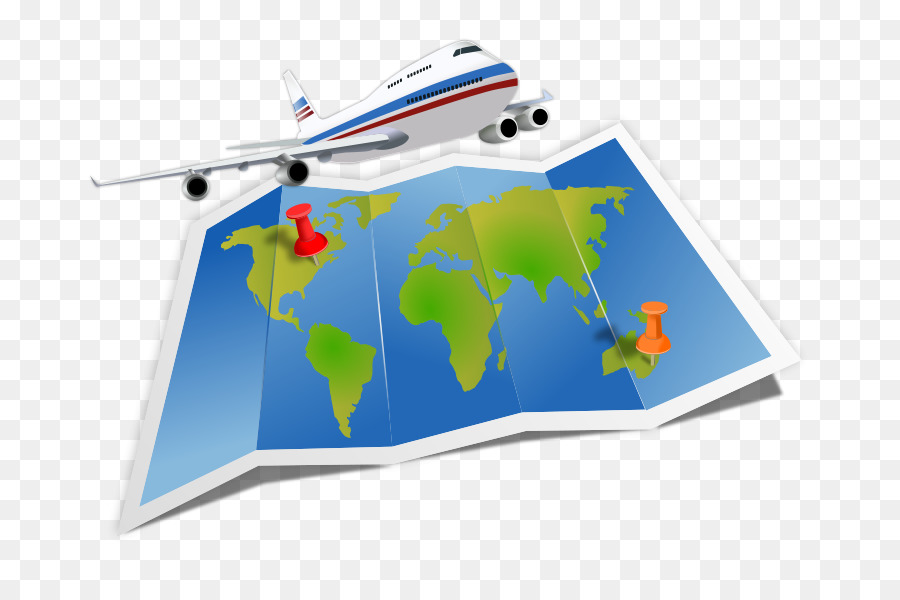 Travel Flight clipart.