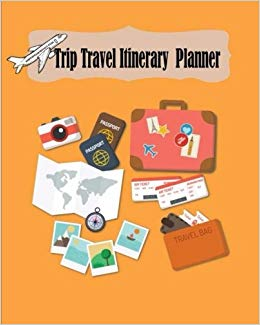 Trip Travel Itinerary Planner: Vacation Trip Travel.