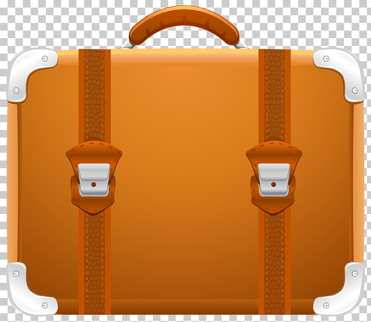 Suitcase Travel , Suitcase , brown briefcase illustration.