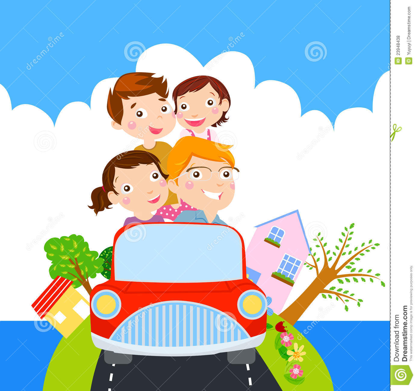 2717 Vacation free clipart.