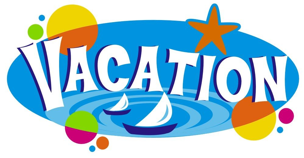 Vacation Time Clipart.