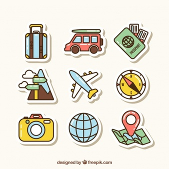 Travel Vectors, Photos and PSD files.