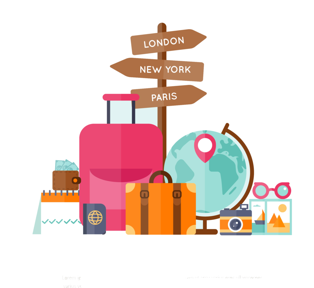 Collection Of Free Travel Vector World. #251124.