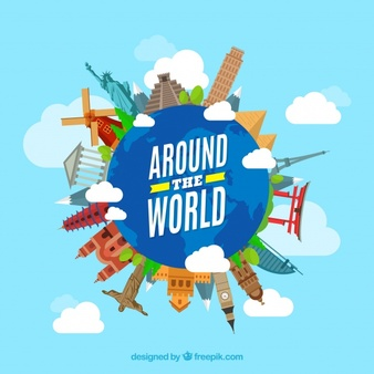 Travel Around The World Vectors, Photos and PSD files.