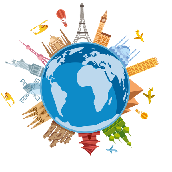 World Travel Clipart Png.