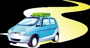 Travel Car Clip Art At Clker