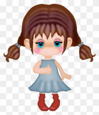 Free PNG Traveling Girl Clip Art Download.