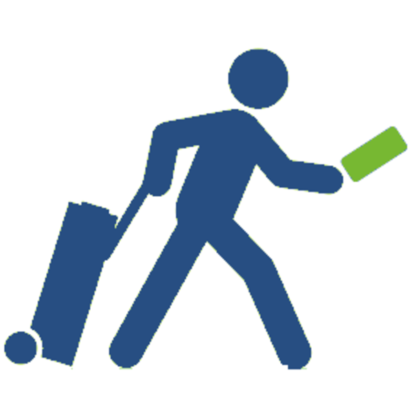 Travelled Clipart.