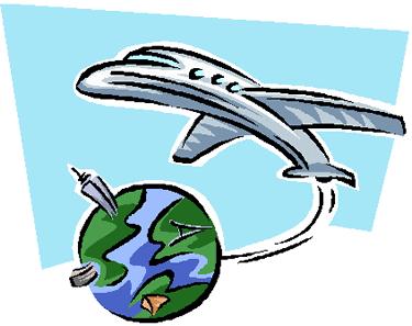 Miles Travel Clipart.
