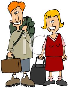 Travellers clipart.