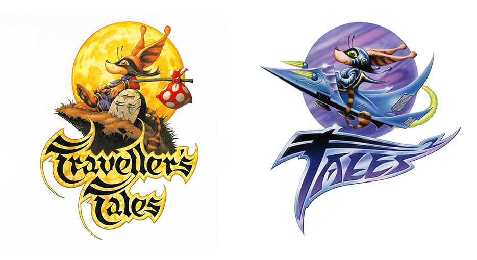 Computer Game Logo Design.