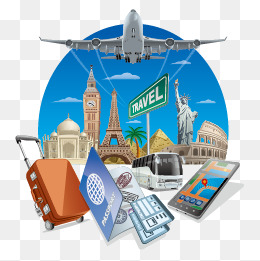 Travel, Map, Vector PNG and Vector with Transparent.