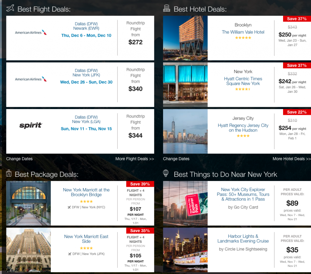 5 Reasons to Love Travelocity\'s Trips for Me Guide.