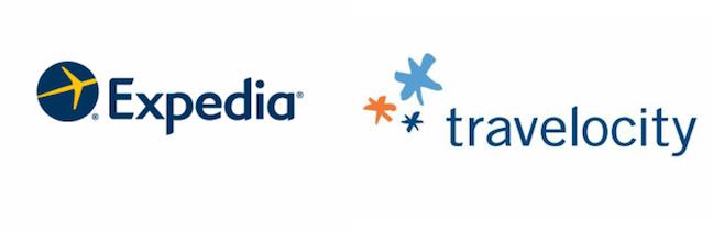 Travelocity Logos.