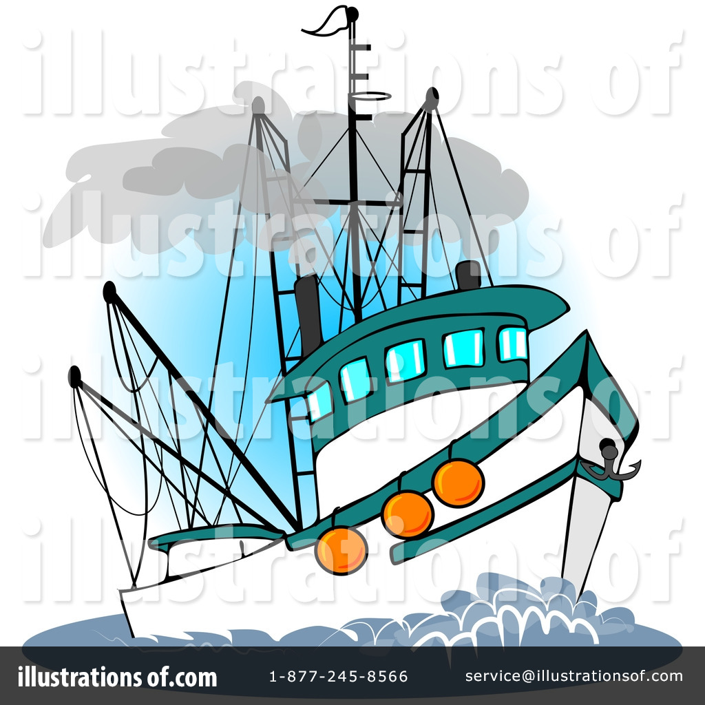 Trawler Clipart #229148.