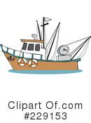 Trawler Clipart #229159.