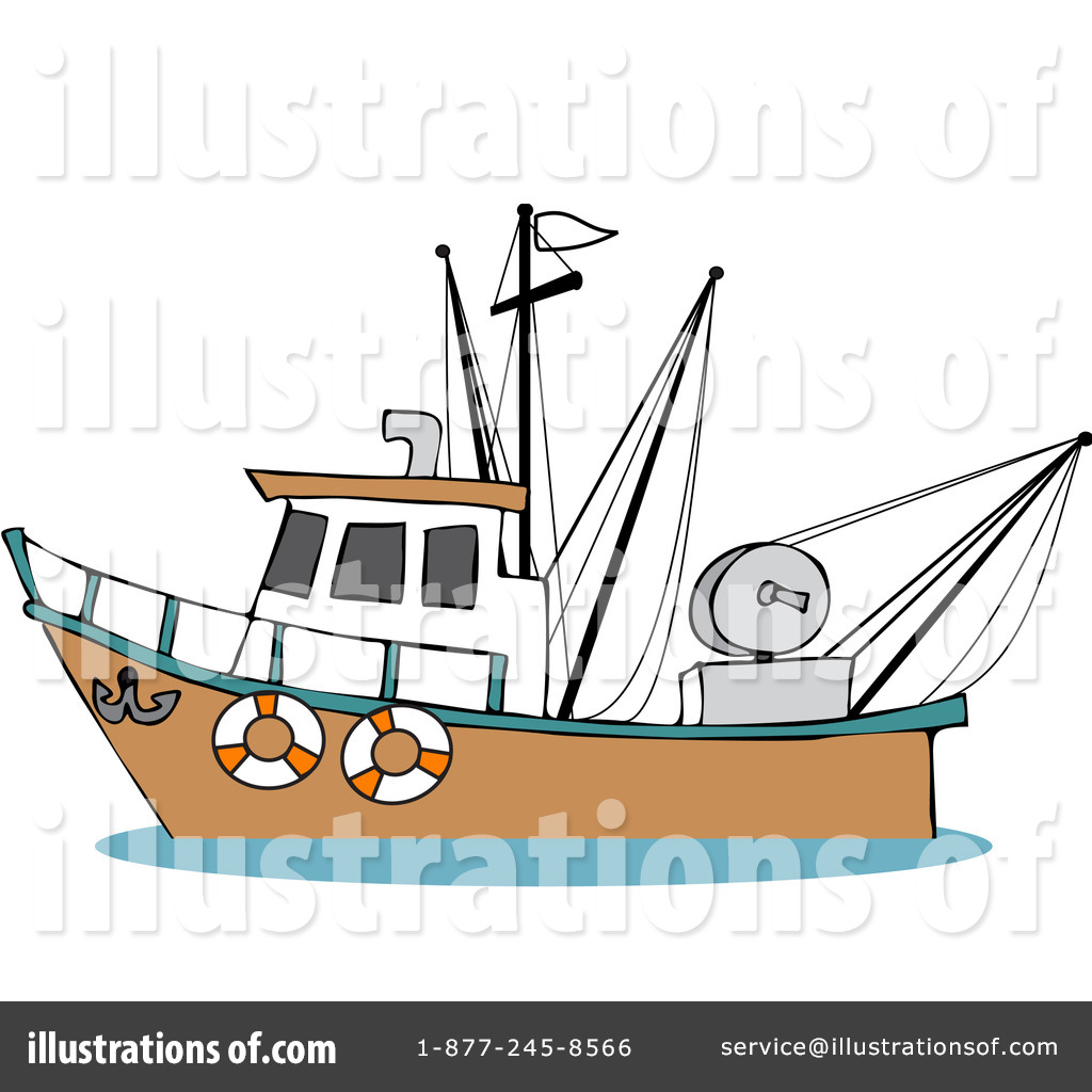 Trawler Clipart #229153.