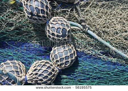 Lead Balls Fishing Trawler Net Marine Bottom Destructive Tackle.