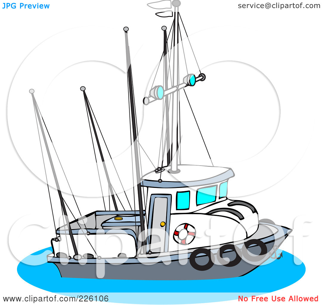 Trawler gear clipart clipground for Free fishing stuff