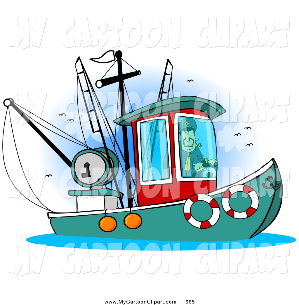 Trawler Clipart.
