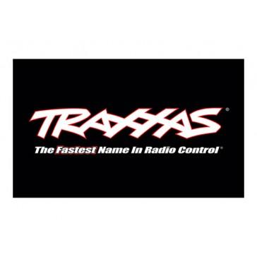 Traxxas Logo Flag Black, 3x5ft.