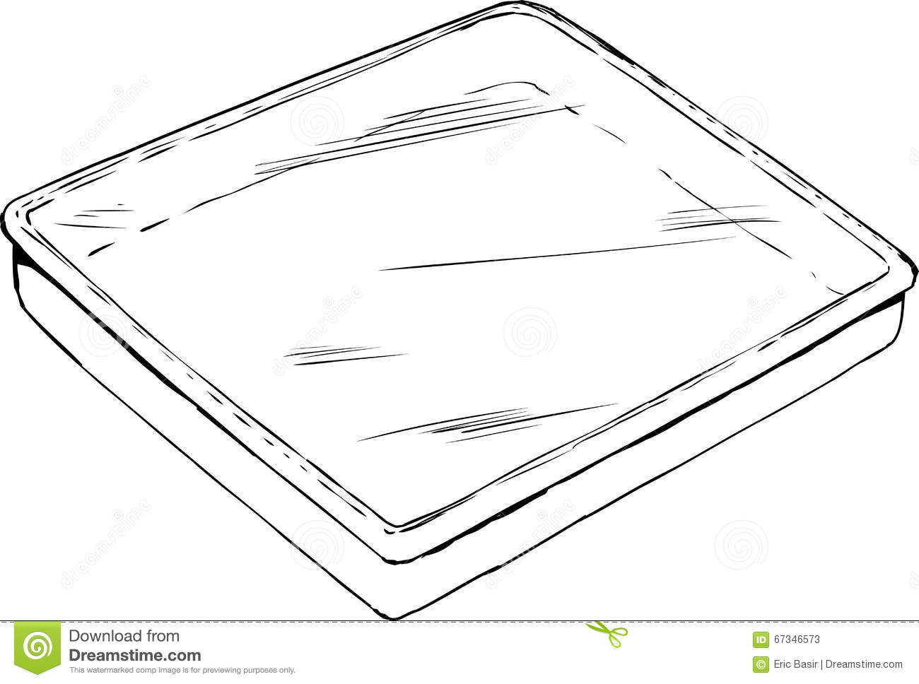 Cookie Tray Clipart Black And White.