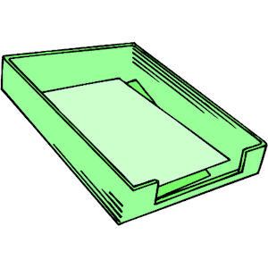 Trays clipart #10
