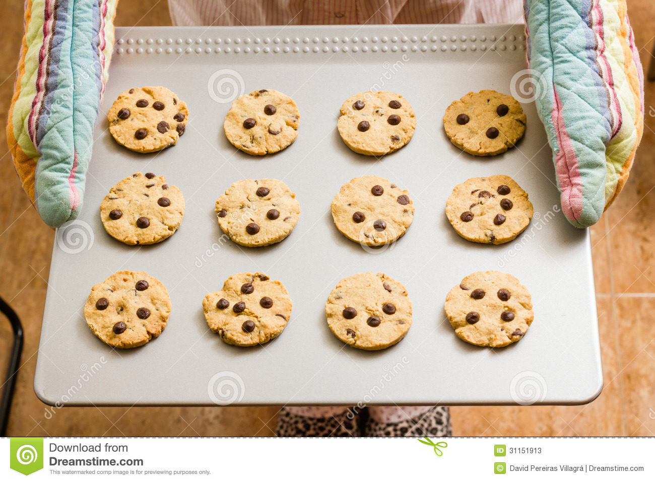 Tray Of Cookies Clipart.