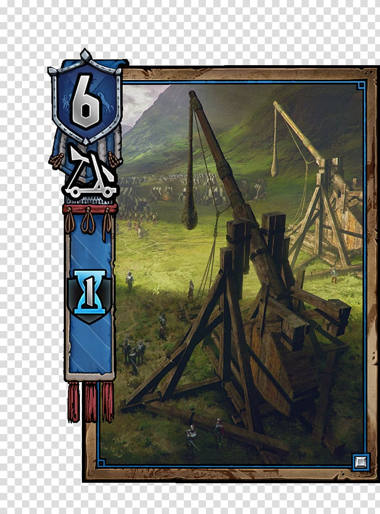 Gwent: The Witcher Card Game Trebuchet Catapult The Witcher.