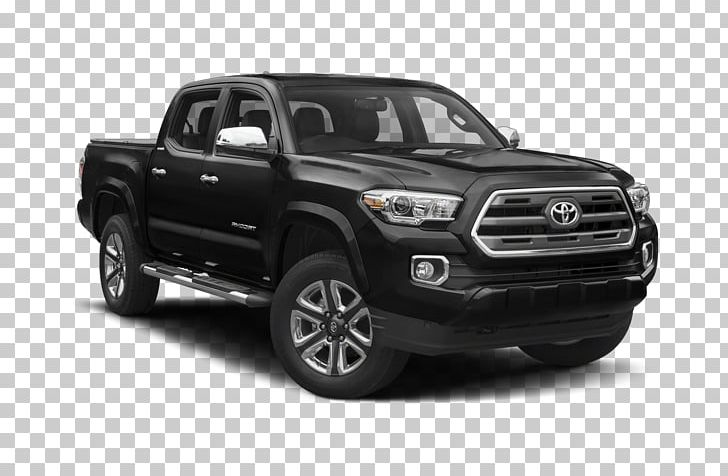 2018 Toyota Tacoma TRD Sport Pickup Truck Crew Cab PNG.