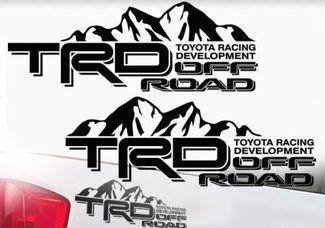 Hilux Toyota Racing Development TRD tailgate stripe Graphic.