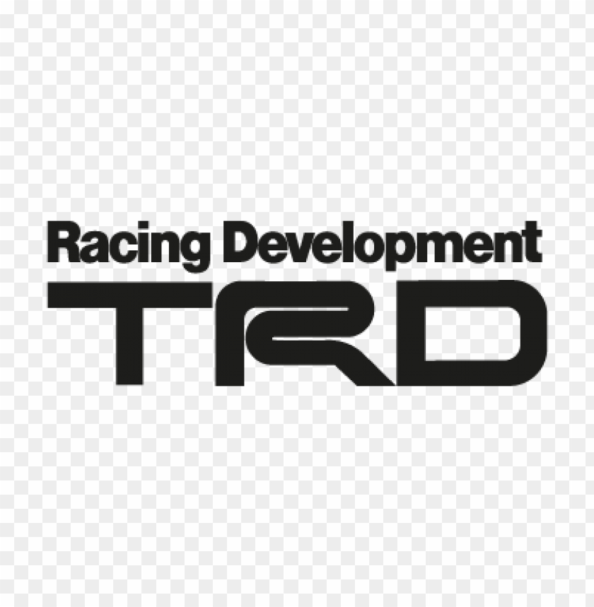 trd black vector logo free download.