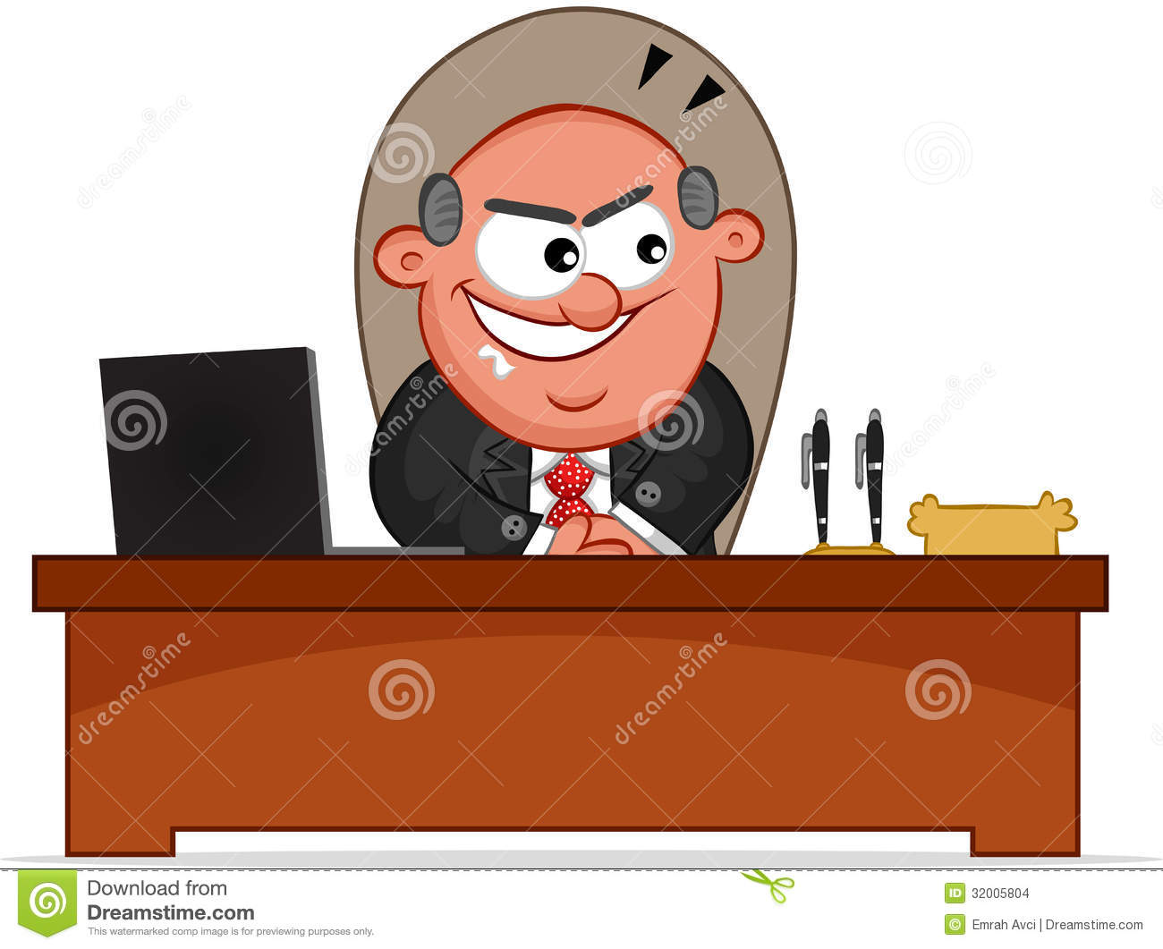 Boss Man Sneaky Stock Images.