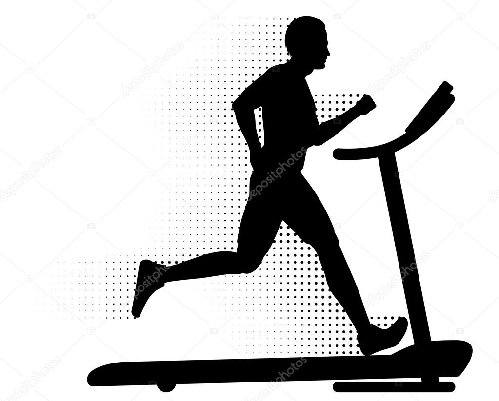 84+ Treadmill Clipart.