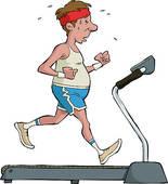 Treadmill Clip Art.
