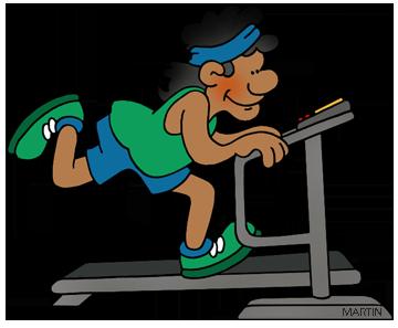 Treadmill Clipart.