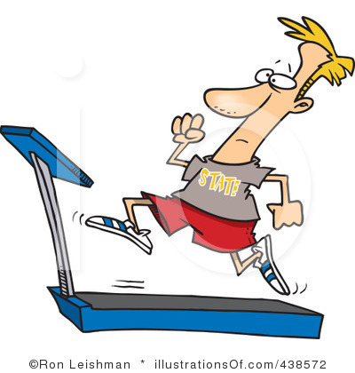 Treadmill Clipart Page 1.