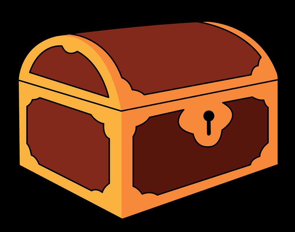 treasure chest clipart.