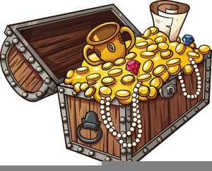 Free Clipart Treasure Chests.