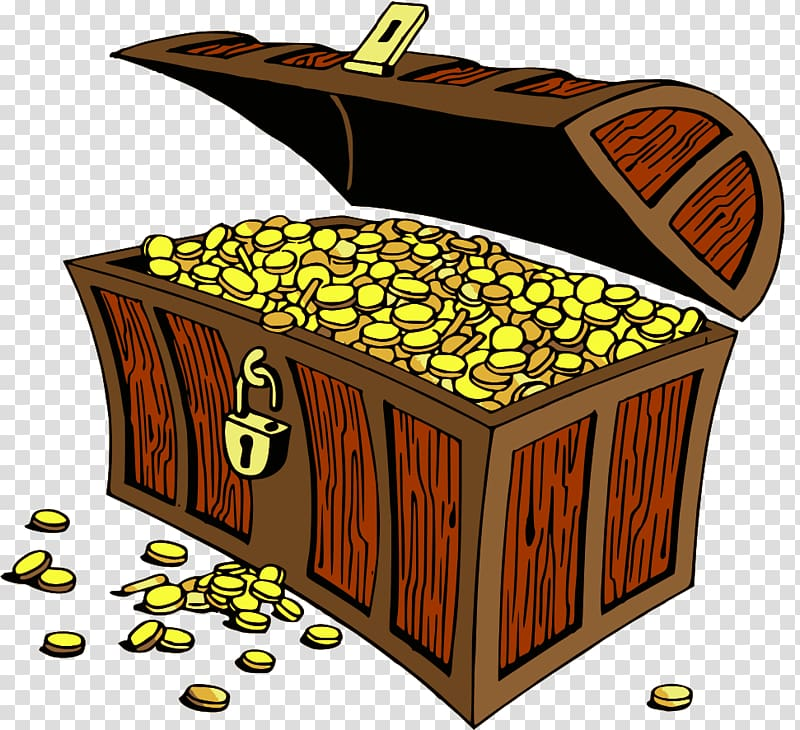 Buried treasure , Treasure File transparent background PNG.